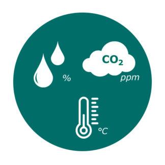 Датчики температуры, влажности и CO2